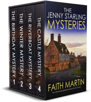 Cover for The Jenny Starling Mysteries Books 1–4