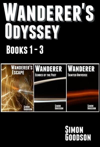 Cover for Wanderer's Odyssey - Books 1 to 3