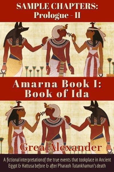 Cover for Amarna Book I: Book of Ida: Sample Chapters