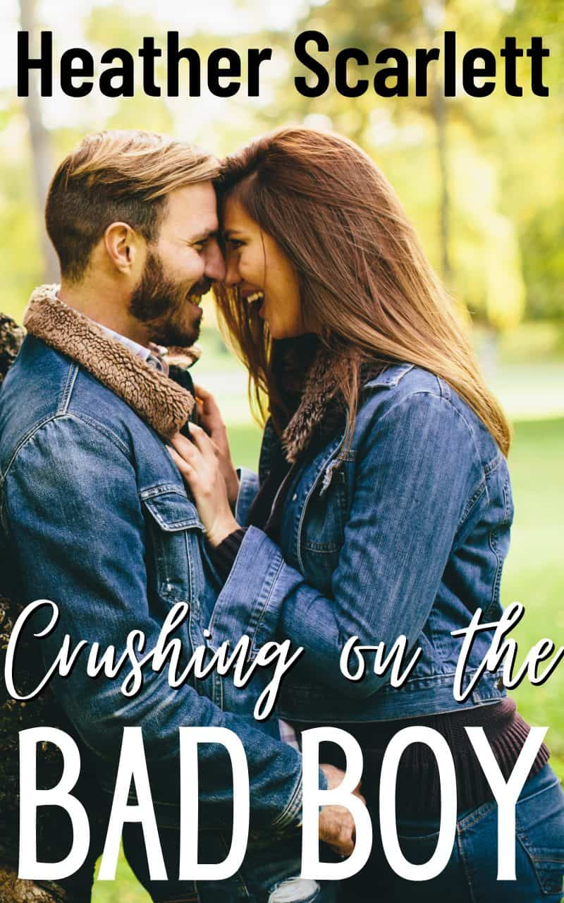 Cover for Crushing on the Bad Boy