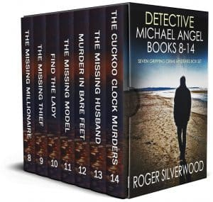 Cover for Detective Michael Angel Books 8–14