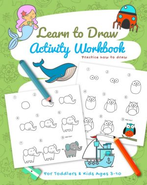 Cover for Learn to Draw Activity Workbook