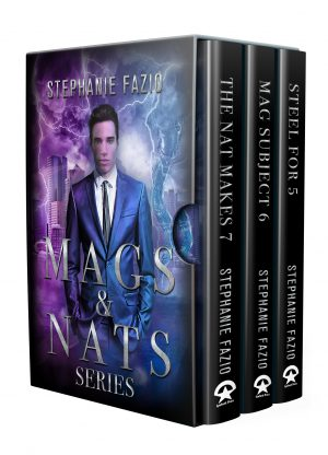 Cover for Mags & Nats 3-Book Series