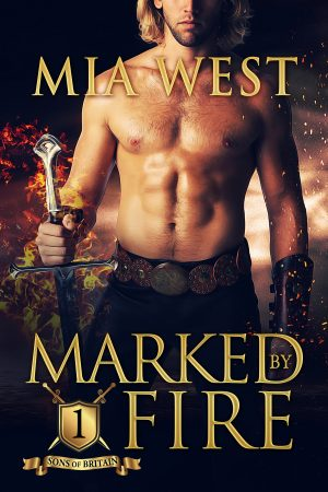 Cover for Marked by Fire