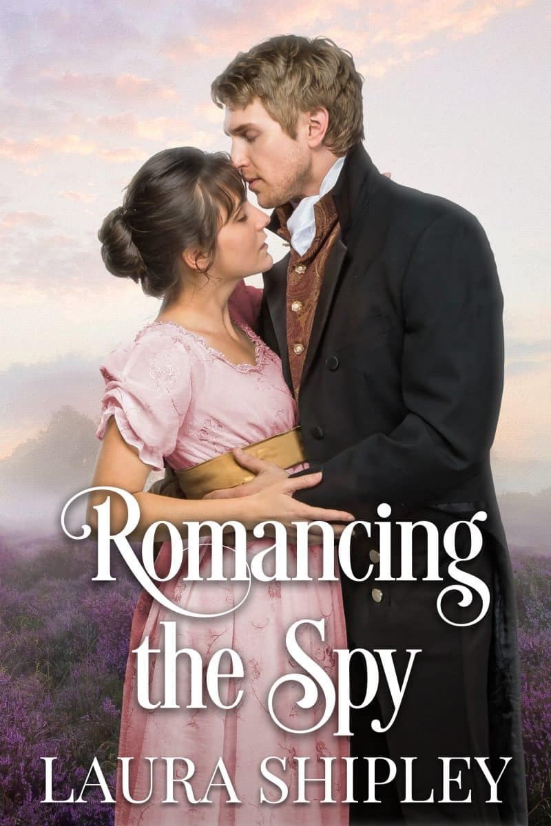Cover for Romancing the Spy: A steamy historical romance