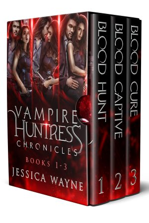 Cover for Vampire Huntress Chronicles Book 1-3