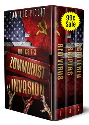 Cover for Zommunist Invasion Box Set, Books 1-3
