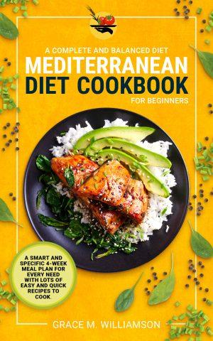 Cover for Mediterranean Diet Cookbook for Beginners