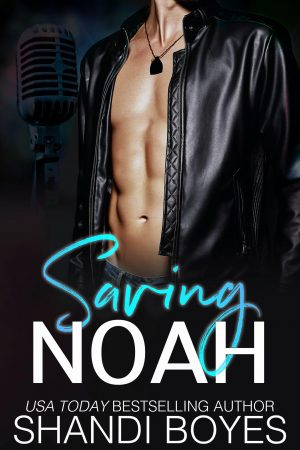 Cover for Saving Noah