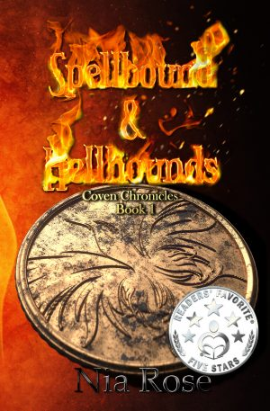 Cover for Spellbound and Hellhounds