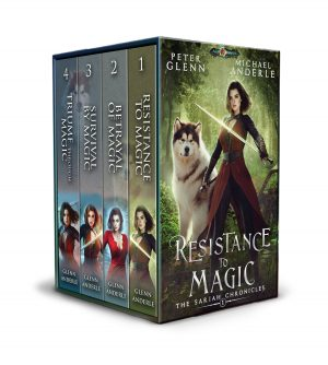 Cover for The Sariah Chronicles Complete Series Boxed Set