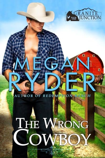 Cover for The Wrong Cowboy