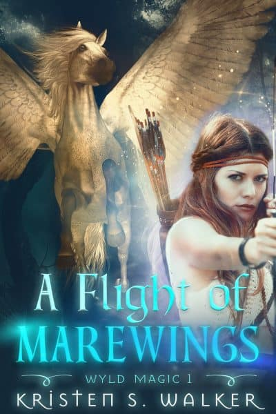 Cover for A Flight of Marewings