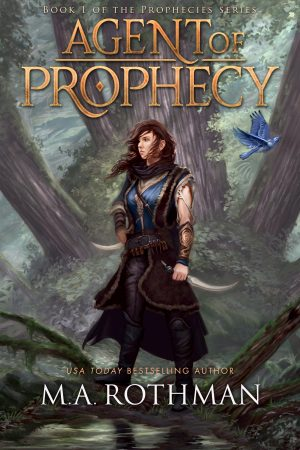 Cover for Agent of Prophecy