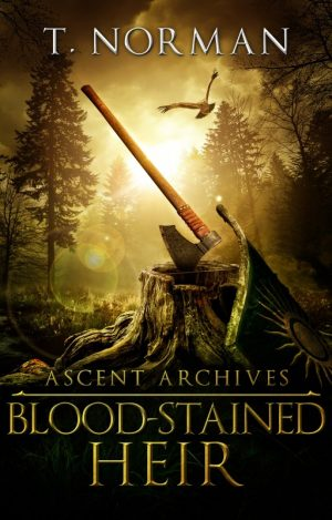 Cover for Blood-Stained Heir