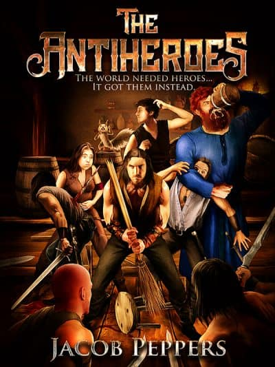 Cover for The Antiheroes