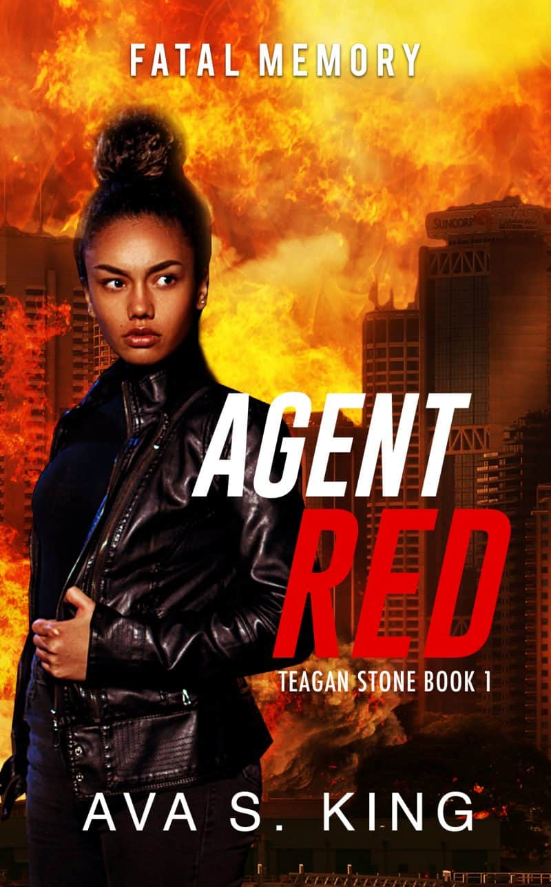 Cover for Agent Red-Fatal Memory: Thriller, Suspense, and Mystery Crime