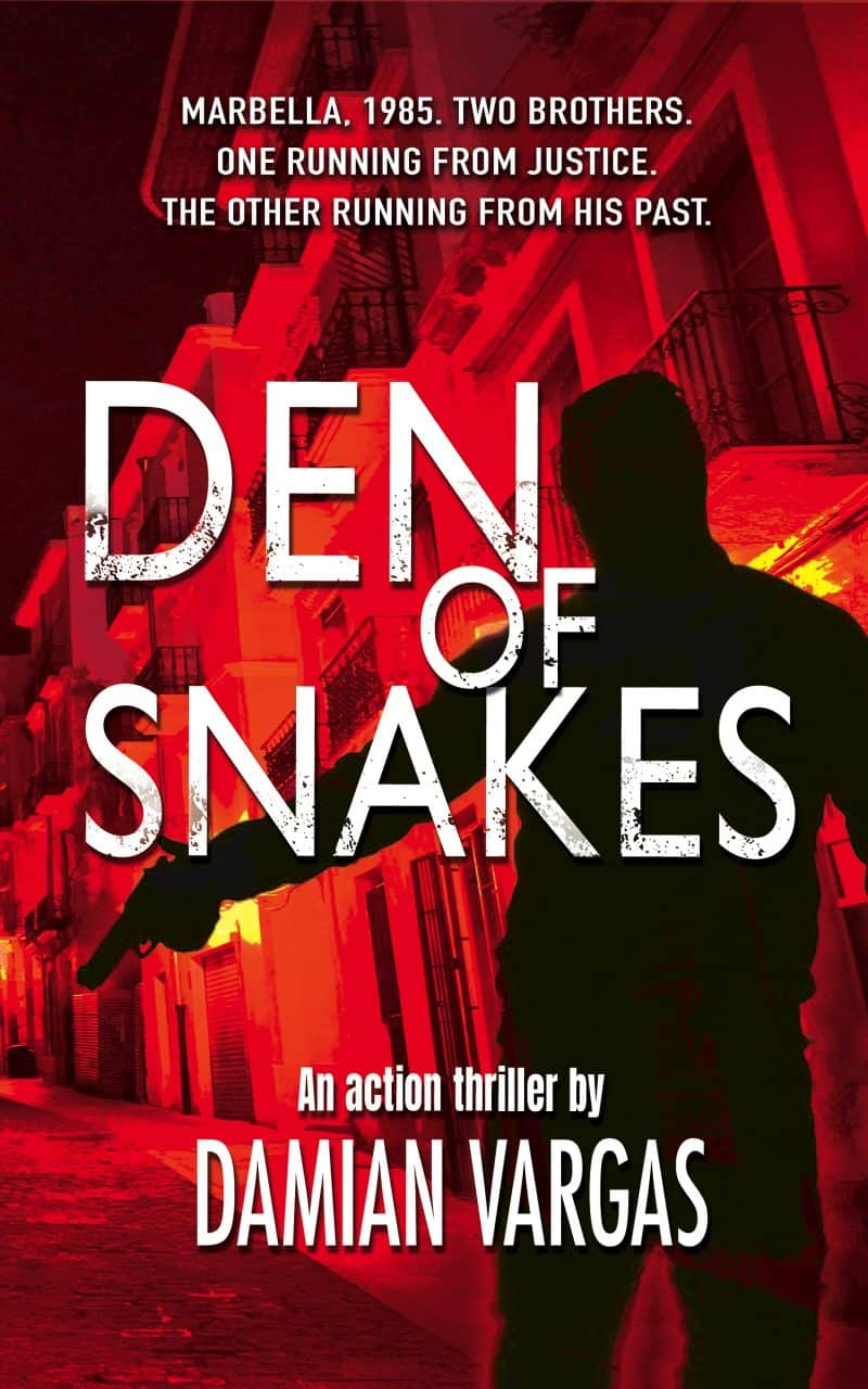 Cover for Den of Snakes: A fast-paced & gritty action crime thriller with British gangsters