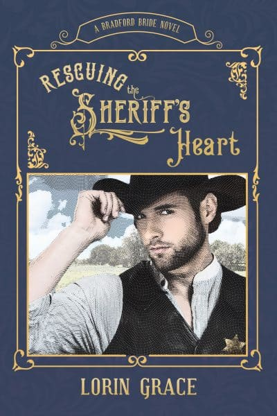 Cover for Rescuing the Sheriff's Heart