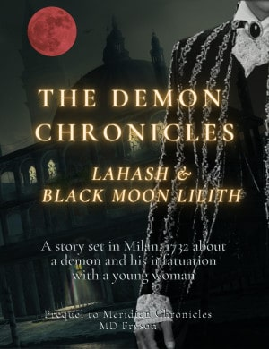 Cover for The Demon Chronicles: Lahash & Black Moon Lilith
