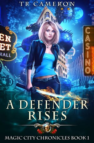 Cover for A Defender Rises