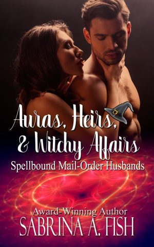 Cover for Auras, Heirs, & Witchy Affairs
