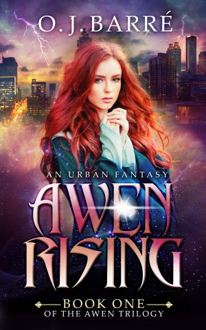 Cover for Awen Rising