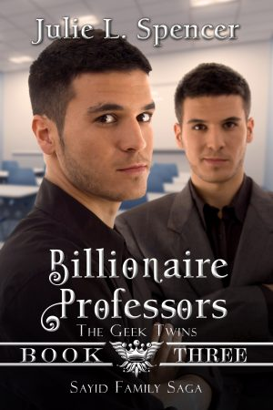 Cover for Billionaire Professors (The Geek Twins)