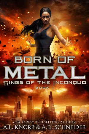 Cover for Born of Metal