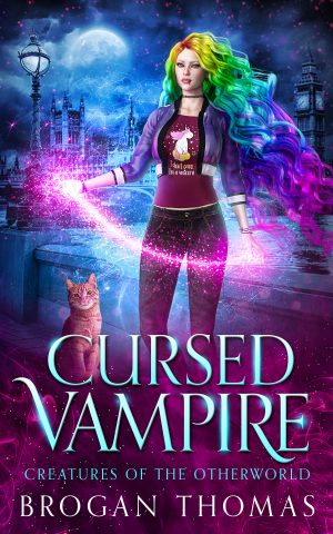 Cover for Cursed Vampire