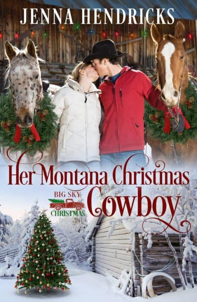 Cover for Her Montana Christmas Cowboy