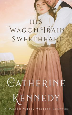 Cover for His Wagon Train Sweetheart