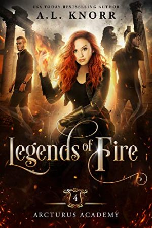 Cover for Legends of Fire