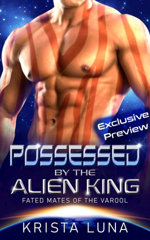 Cover for Possessed by the Alien King: A Scifi Alien Warrior Romance