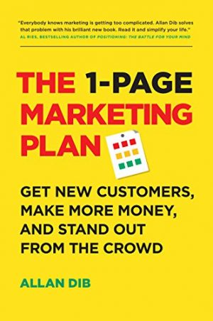 Cover for The 1-Page Marketing Plan