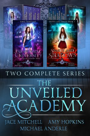 Cover for The Unveiled Academy: Two Complete Series