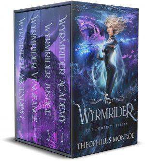 Cover for Wyrmrider Books 1-4