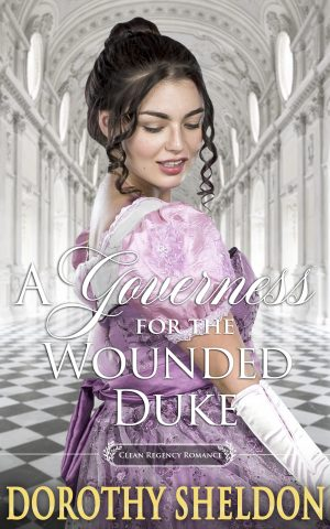 Cover for A Governess for the Wounded Duke