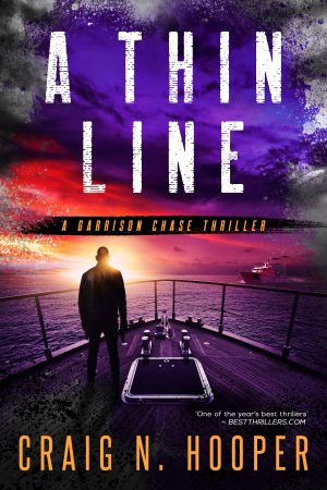 Cover for A Thin Line