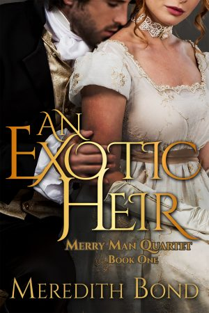Cover for An Exotic Heir