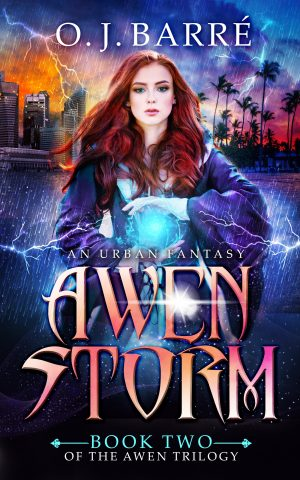 Cover for Awen Storm