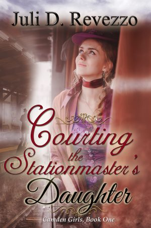 Cover for Courting the Stationmaster's Daughter