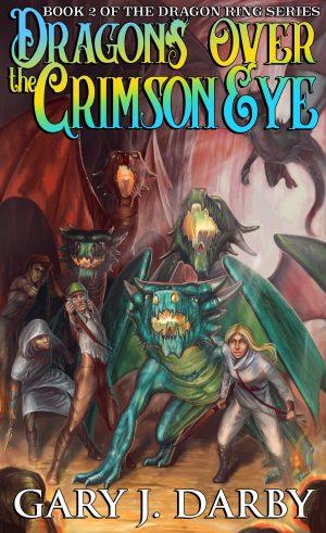 Cover for Dragons over the Crimson Eye