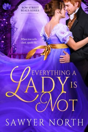 Cover for Everything a Lady Is Not