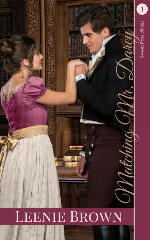 Cover for Matching Mr. Darcy