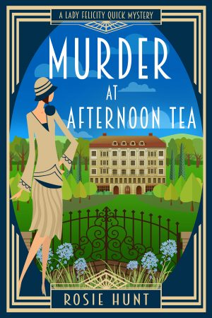 Cover for Murder at Afternoon Tea