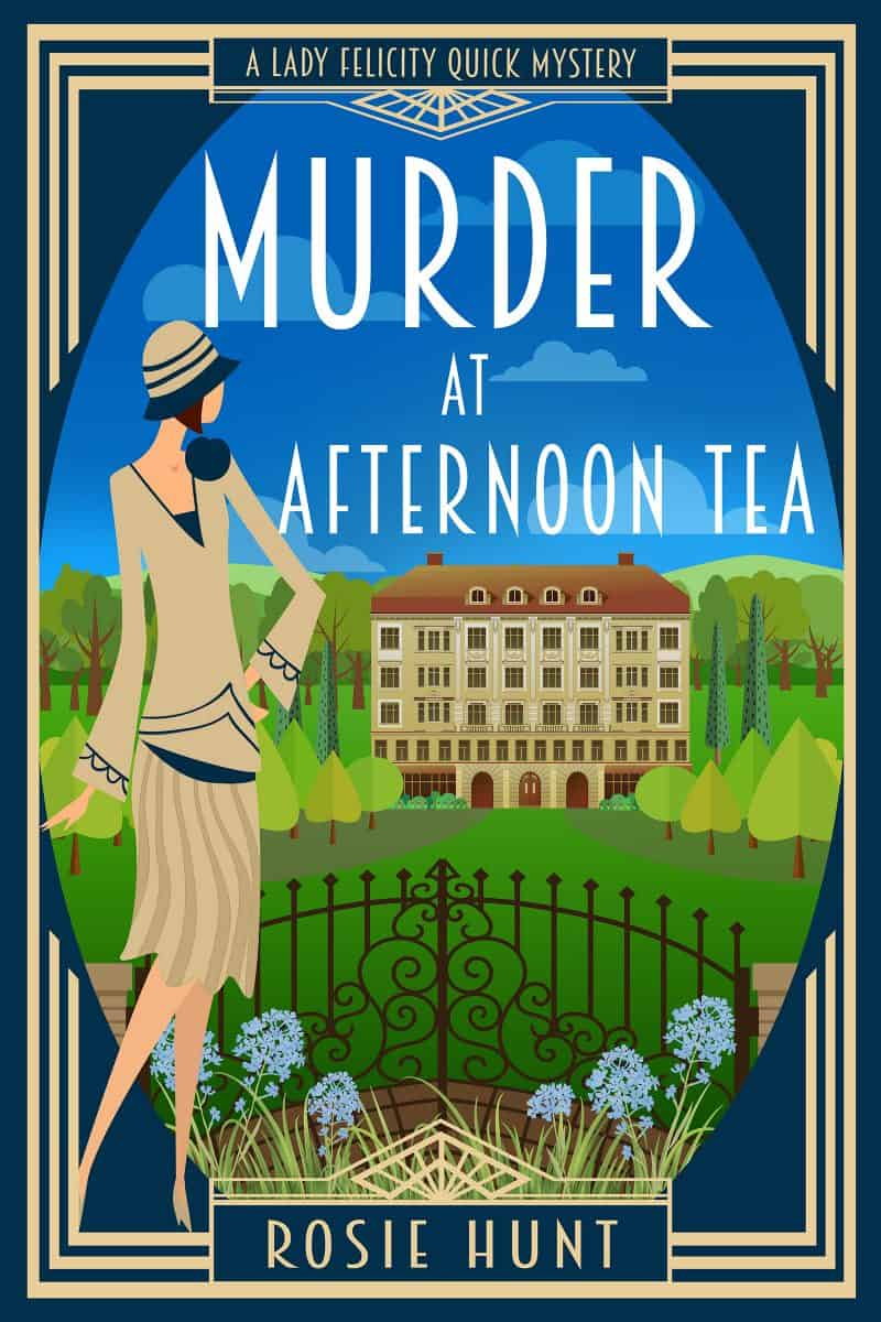 Cover for Murder at Afternoon Tea: A 1920s Cozy Mystery