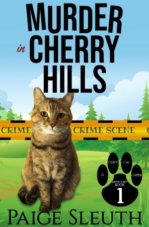 Cover for Murder in Cherry Hills