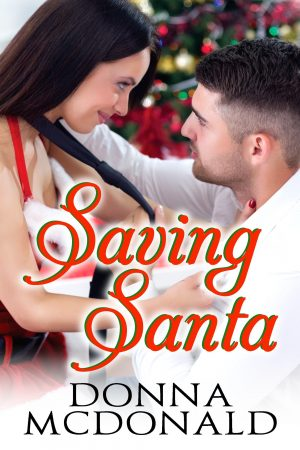 Cover for Saving Santa