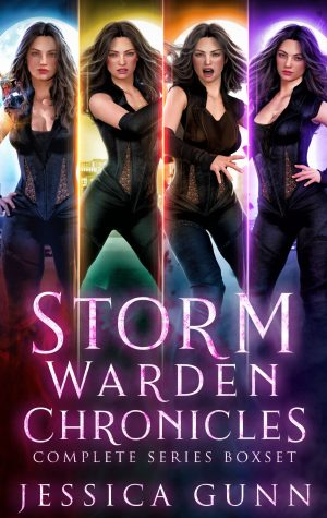 Cover for Storm Warden Chronicles Complete Series Boxset: Books 1-4